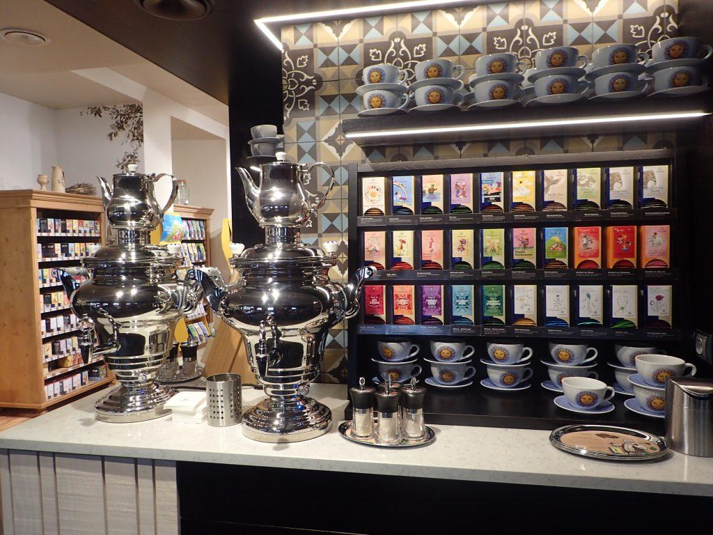 Výlet na víkend Čejkovice Bylinkový ráj SONNENTOR čajový pult