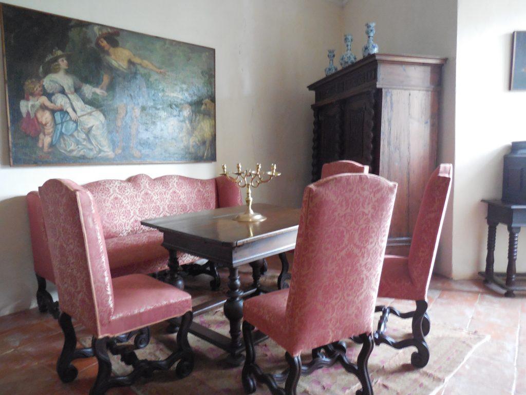 www.vylet-na-vikend.sk-hrad Buchlov renesančné priestory